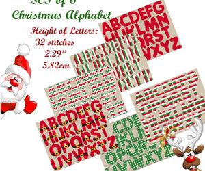 Scandinavian, merry christmas, and cross stitch pattern image