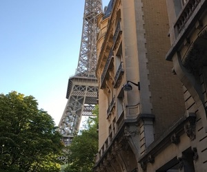 eiffel tower, france, and picture image
