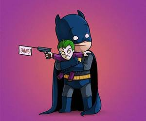 batman, cute, and cool image