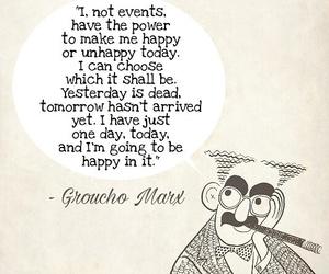 advice, wisdom, and groucho marx image