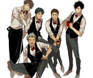 boys and haikyuu image