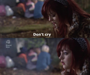 skins, cry, and quote image