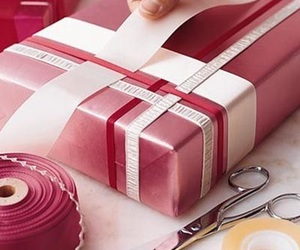 wrapping, diy, and present image
