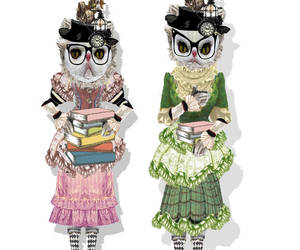 diy, paper doll, and steampunk doll image