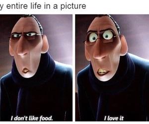 food, funny, and ratatouille image