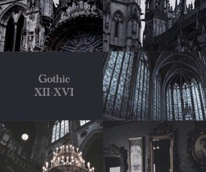 gothic, black, and art image