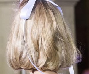 hair and ribbon image