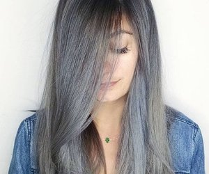 cool, girl, and gray image