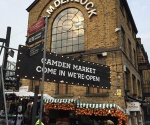 camden, holiday, and london image