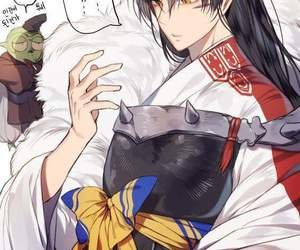 inuyasha, sesshomaru, and anime image