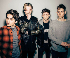 the vamps, connor ball, and band image