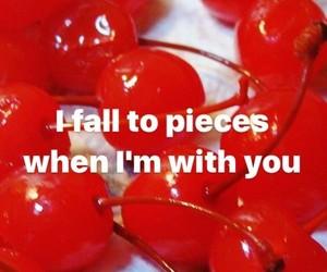 cherries, cherry, and Lyrics image