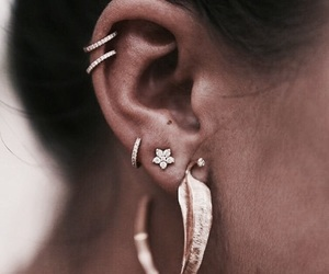 earrings, style, and jewelry image