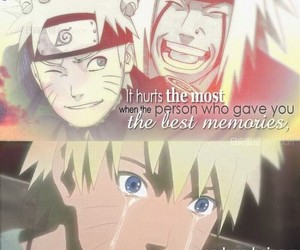 anime, quotes, and sad image