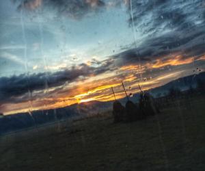 cloud, heaven, and sunrise image