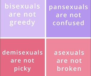 asexual, boys, and lesbian image
