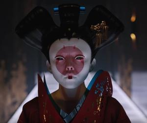 anime, asian, and geisha image