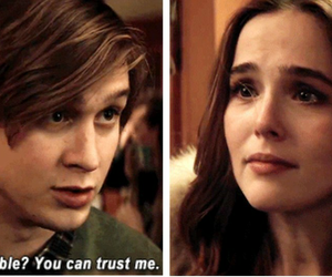 before i fall, zoey deutch, and movie image