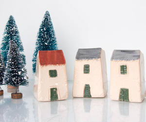 art, etsy, and little clay house image