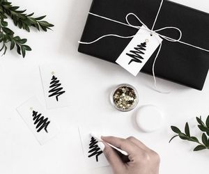 gift wrapping and christmas gift wrapping image