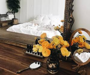 aesthetic, bedroom, and decoration image