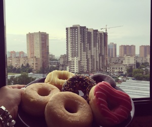 donuts, moscow, and yummies image