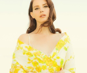 yellow, lana del rey, and beauty image