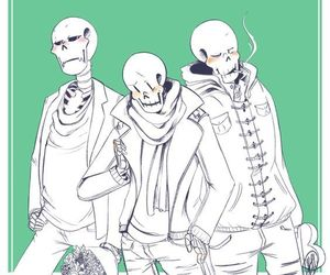 papyrus, casual clothes, and underswap image