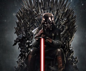 DarthVader, got, and gameofthrones image