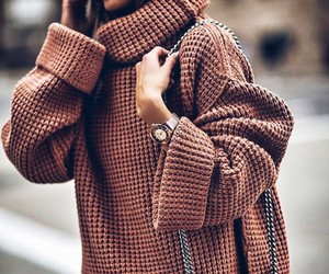 cozy, fashion, and warm image