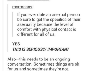 asexual, important, and lgbt+ image