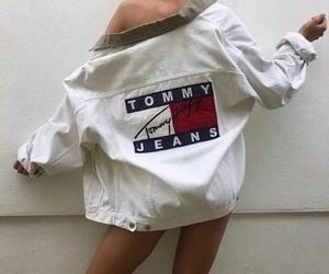 fashion, jacket, and white image