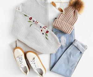 outfit, basic, and fashion image