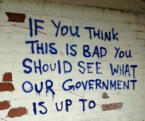 government, grunge, and think image