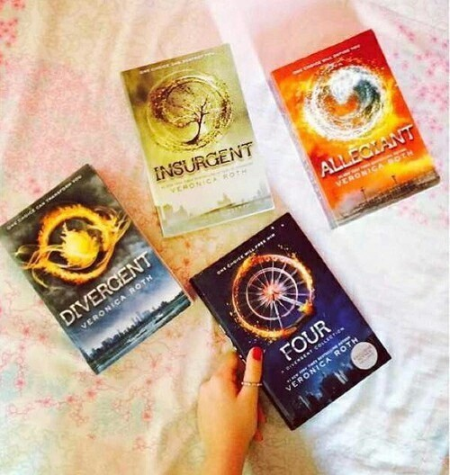 book, divergent, and insurgent image