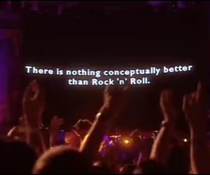 concert, tumblr, and rock 'n' roll image