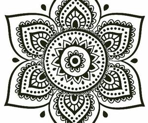 coloring mandela image