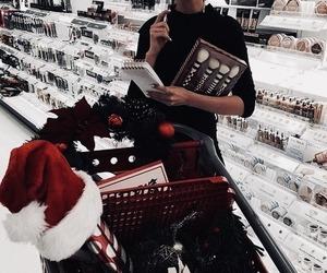 christmas and shopping image