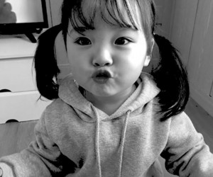 child, korean, and cute image