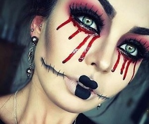 beauty, Halloween, and scary image