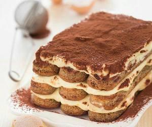 chocolate ice-cream cake image