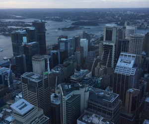 australia and sydney tower image