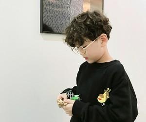 asian, glasses, and kawaii image