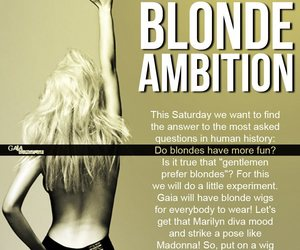 blondes have more fun, blondes do it better, and blondeambition image