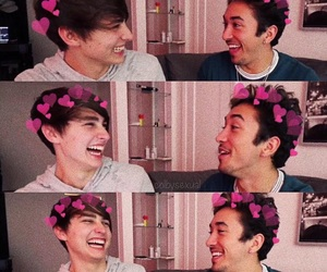 colby brock, brennen taylor, and tfil image