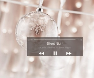 lights, pink, and silent night image