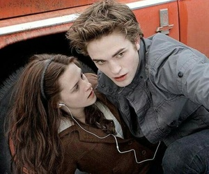 twilight, bella swan, and edward cullen image