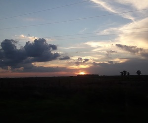 atardecer, clouds, and sunset image
