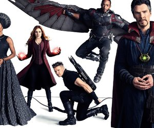 Marvel, Avengers, and falcon image
