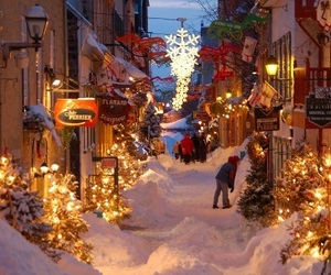christmas, vacation, and village image